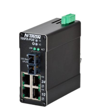 5-Port Unmanaged Switch 105FX-SC redlion - redlion vietnam - ntron vietnam