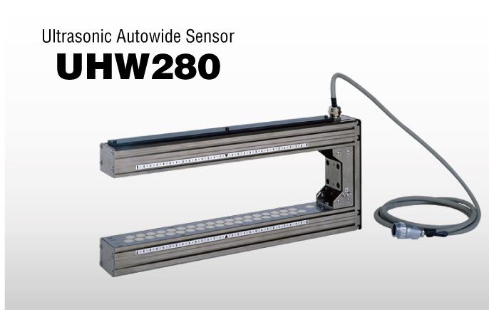 Cảm biến siêu âm chỉnh biên UHW280 Nireco  - bộ chỉnh biên UHW280