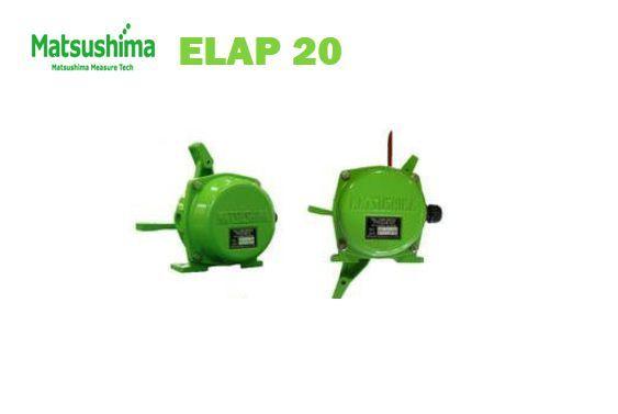 Công tắc AC250V x 5A  ELAP-20  matsushima - công tắc lệch băng tải Elap 20