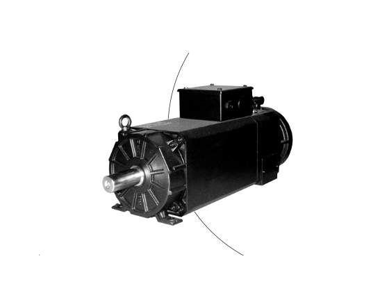 Đại lý Baumuller việt nam - DA 100-280 AC asynchronous motors baumuller