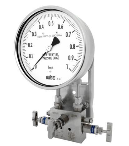 Đồng hồ đo chênh áp suất p670, p671, p672, p673 wise vietnam