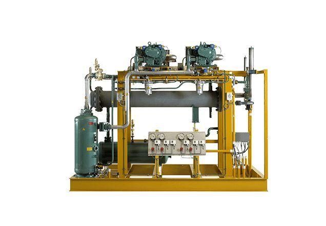 Haffmans CO2 Liquefaction Refrigeration System, Hệ thống hóa lỏng CO2