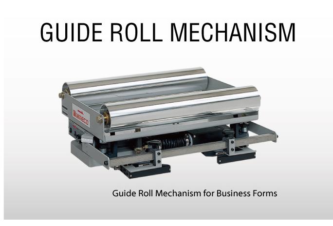 Hệ thống chỉnh biên Guide Roll Mechanism - Hệ thống cuộn Nireco