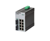 10 PORT ETHERNET SWITCH (8 10/100BASETX, 2 100BASEFX) NTRON