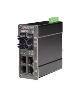 6-Port Unmanaged Switch 106FX2 Ntron - ntron vietnam - redlion vietnam