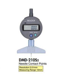 Depth gauge teclock DMD-210S2, DMD-211S2, DMD-213S2, DMD-250S2, DMD-252S2, DMD-240J, DMD-241J, teclock vietnam
