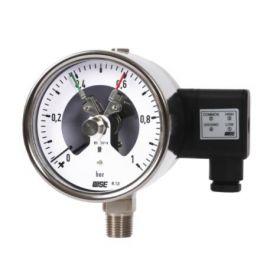 Đồng hồ áp suất có tiếp điểm điện p510, p520, p525,p536 wise