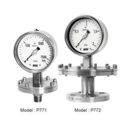 Đồng hồ đo áp suất p771, p772, p790 của wise - wise vietnam