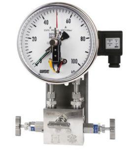 Đồng hồ đo chênh áp có tiếp điểm điện P650 wise - wise vietnam