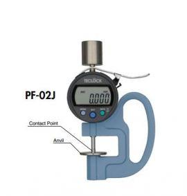 Đồng hồ đo độ dày teclock PG-16J, PG-17J, PG-18J, PG-20J, PF-01J, PF-02J, PF-11J, PF-12J, teclock vietnam