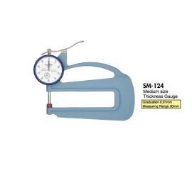 đồng hồ đo độ dày teclock SM-114FE, SM-114-3A, SM-124, SM-124LS, SM-124LW, SM-125, teclock vietnam
