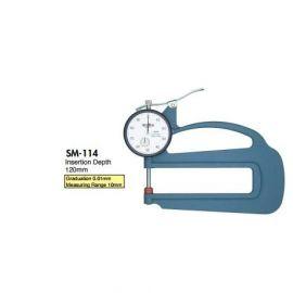 đồng hồ đo độ dày teclock SM-528-3A, SM-528FE, SM-528-80g, SM-528P, SM-114, SM-114P, SM-114LS, SM-114LW, teclock
