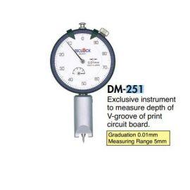 Đồng hồ kiểm tra độ sâu DM-251, DM-252, DM-264, DM-280, DM-283, DM-220, teclock vietnam