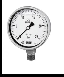 Đồng hồ P258 Wise - Đồng hồ đo áp suất P258 của Wise