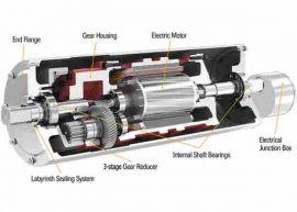 Drum Motor TM113, TM127, TM160, TM215 - phân phối Vandergraaf vietnam