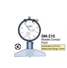 dụng cụ đo chiều sâu teclock DM-210, DM-210P, DM-211, DM-213, DM-214, DM-250, DM-250P, teclock vietnam