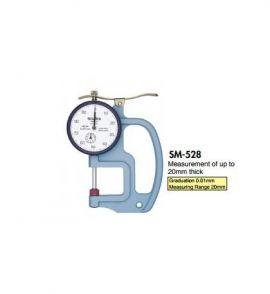 Dụng cụ đo độ dày teclock SM-112-40g, SM-112-80g, SM-112P, SM-528, SM-528LS, SM-528LW, teclock vietnam