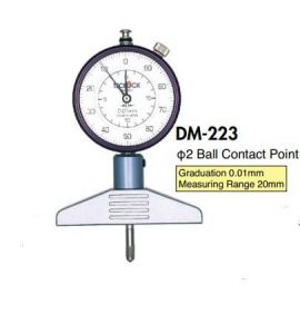 Dụng cụ kiểm tra độ dày teclock DM-221, DM-223, DM-223P, DM-224, DM-224P, DM-293, DM-230, teclock vietnam