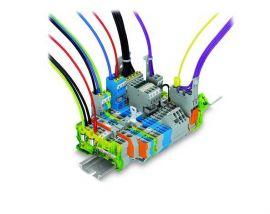 Hệ thống đầu cuối Wago - Pluggable rail-mounted terminal block systems wago - wago vietnam