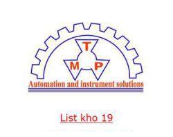 List nhập kho IFM,Idex Pump,Ingersoll Rand,IESW8WAVE,IDEC,IPF,Indfos,IMS Messsysteme,iBA-AG,INTERROLL