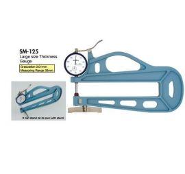 máy đo độ dày vật liệu teclock SM-125LS, SM-125LW, SM-125-3A, SM-130, SM-130LS, SM-130LW, SM-1201, teclock vietnam