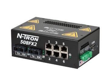 N-tron viet nam - 508FX2-A-ST Process Control Ethernet Switch Ntron
